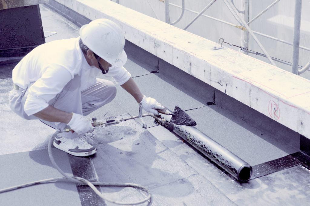 防水工事における気温への影響